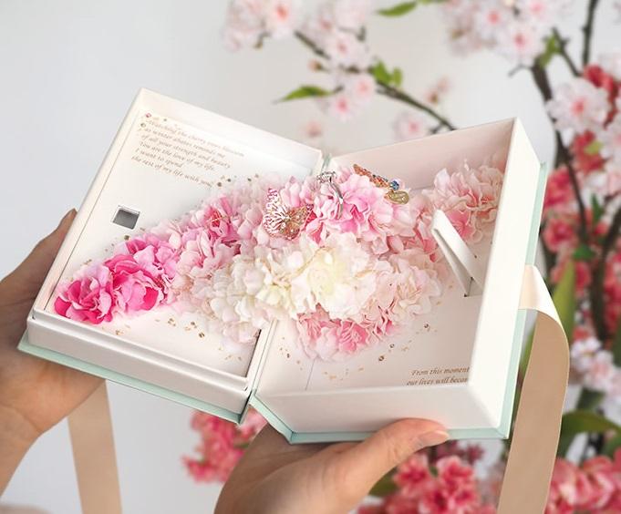 Love Book -桜・Sakura-(プロポーズの本)