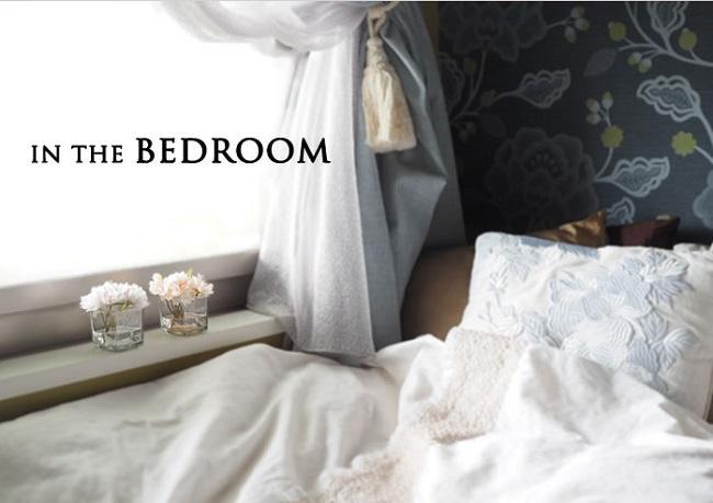 ベッドルームに飾るイメージ