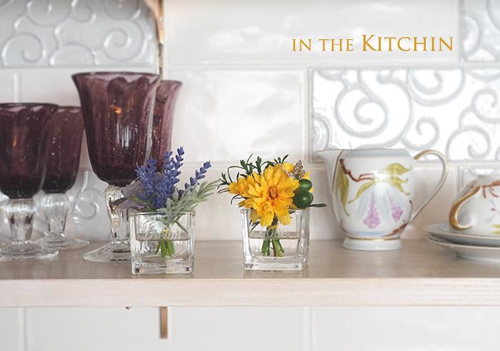 《飾り方》キッチン棚に
